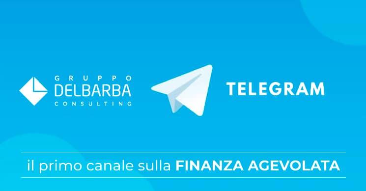 telegram gruppo del barba finanza agevolata