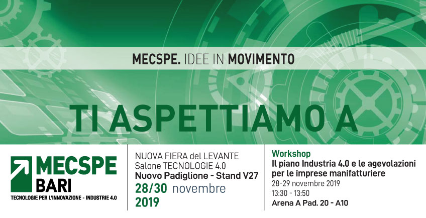 mecspe bari workshop