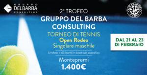 torneo tennis Gruppo Del Barba Consulting 2020