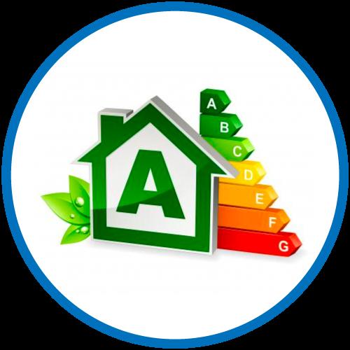 ECOBONUS per interventi di efficientamento energetico che assicurino il miglioramento di almeno 2 classi energetiche dell'edificio.