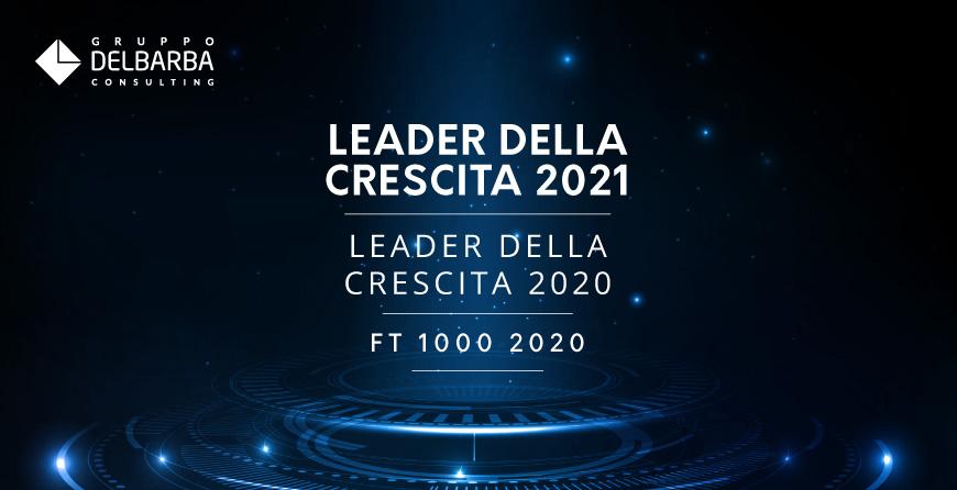 Leader della Crescita 2021, Gruppo Del Barba si conferma tra le migliori aziende in Italia!